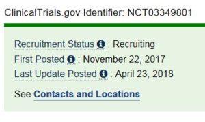 Clinical trials Macustar Recruiting