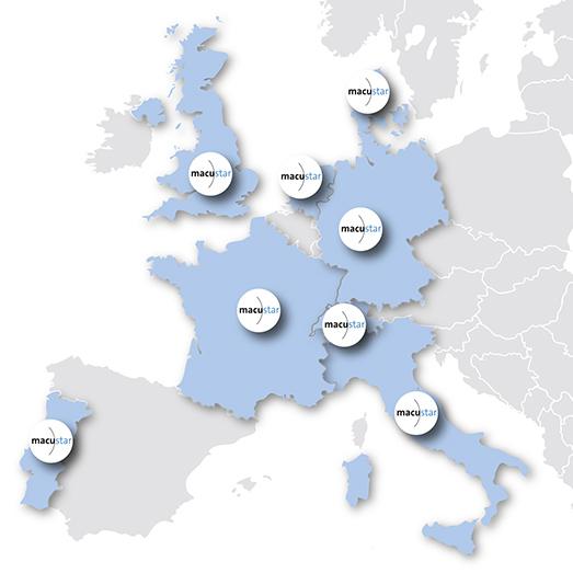 macustar: Clinical Sites
